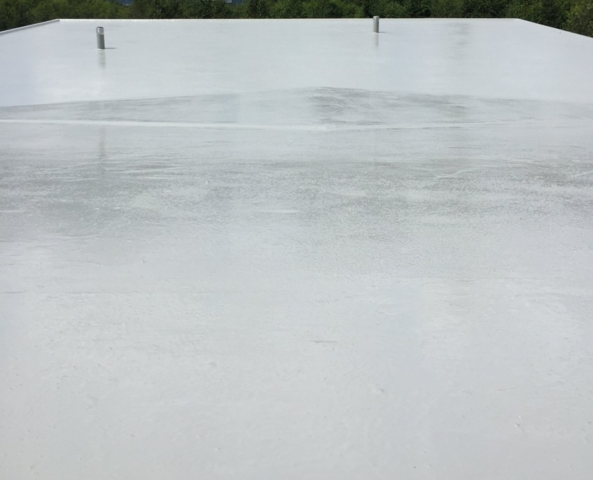 Flexstone Waterproof Coating - Standard Finish Roof Top - Squamish 1