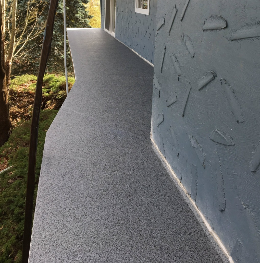 Vinyl Decking North Vancouver - 66 Granite Rock Material
