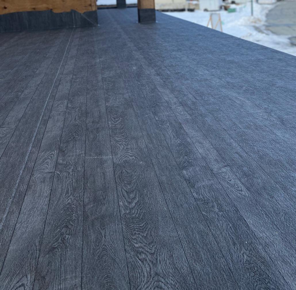 Vinyl Decking - 66 Grey Pearl Plank